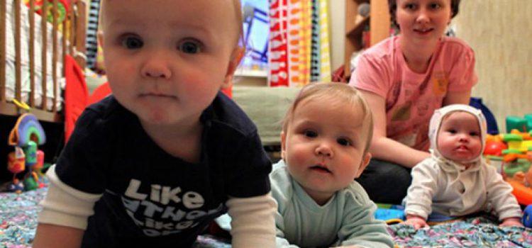 три малыша
